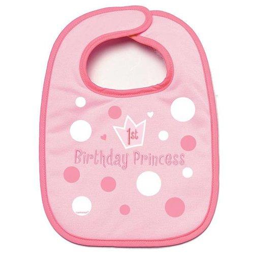 eerste verjaardag slabbertje meisje