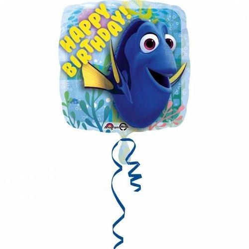 Finding Dory ballon folie happy birthday