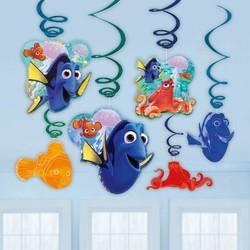 Finding Dory versiering 6 hangdecoraties