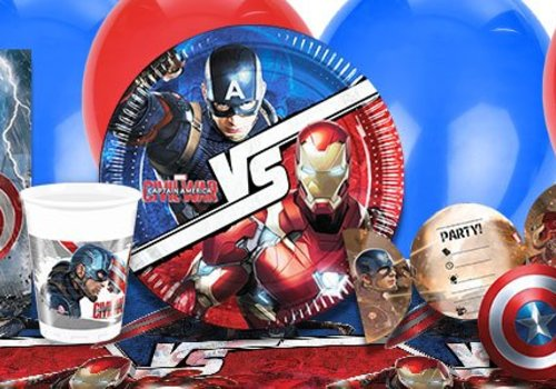 Captain America civil war feestartikelen