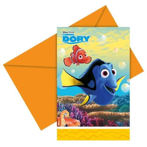 Finding Dory uitnodigingen