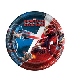 Captain America Civil War gebaks borden