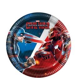 Captain America Civil War gebaks borden