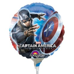 Captain America Civil War ballon (lucht gevuld)