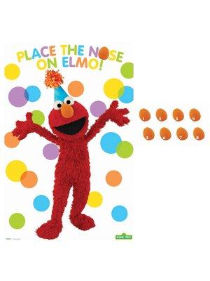 Elmo feestspel voor kinderfeestjes