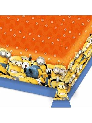 Minions feestartikelen: tafelkleed (orange)