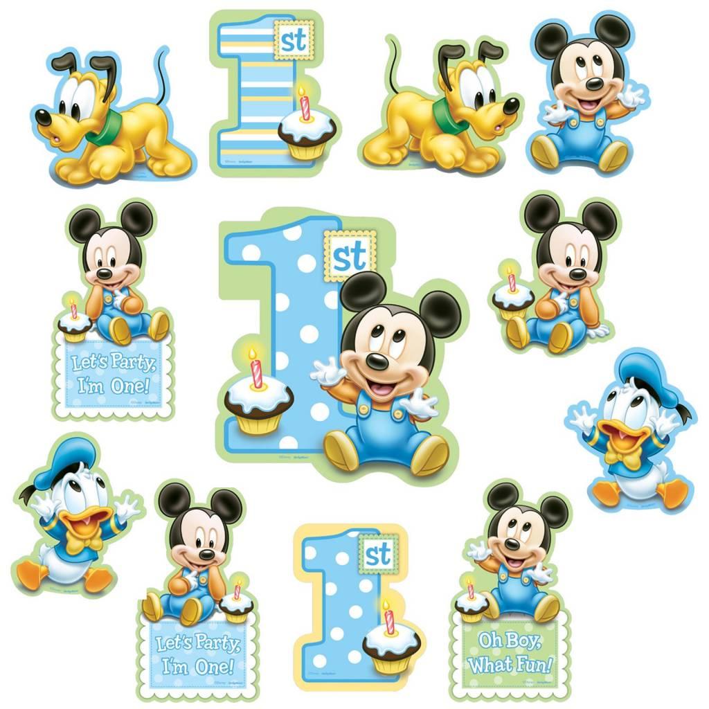Mickey Mouse Verjaardag Artikelen Octopuss