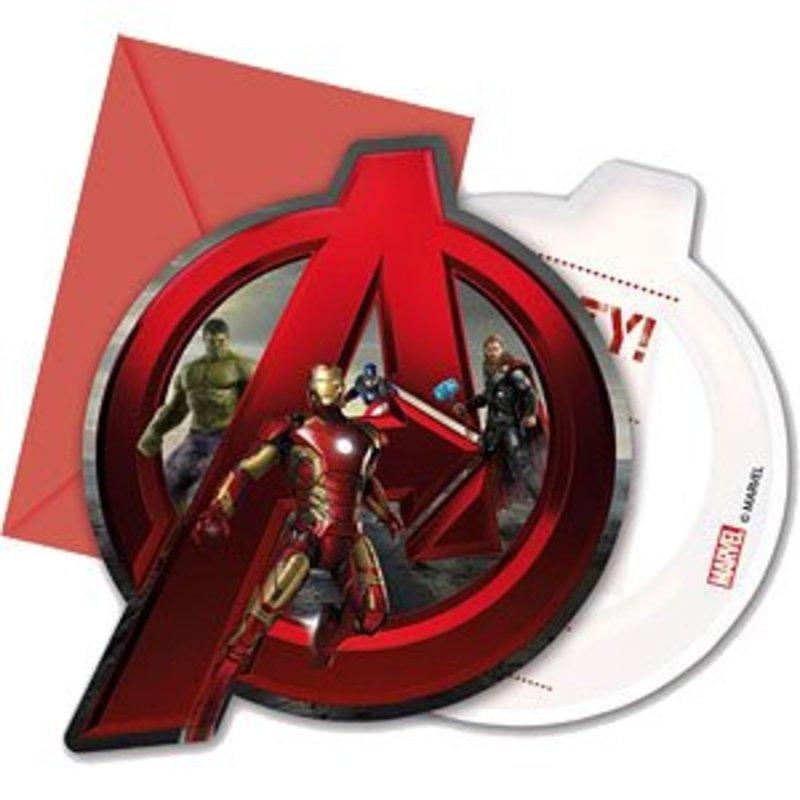 Avengers Age Of Ultron uitnodigingen