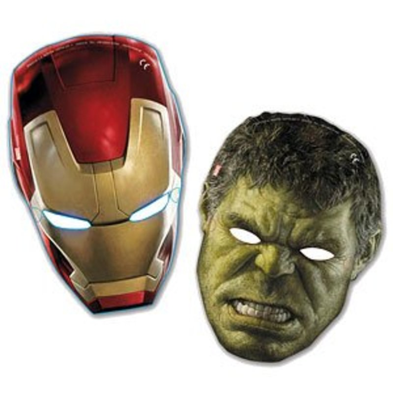 Avengers Age Of Ultron maskers