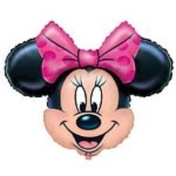 Minnie mouse versiering folie ballon (vorm van Minnie)