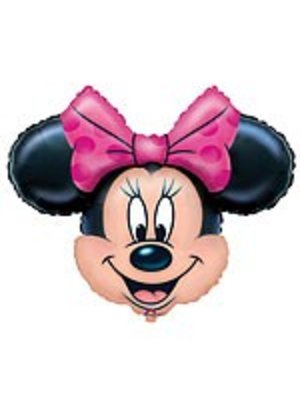 Minnie mouse versiering folie ballon (vorm van Minnie)