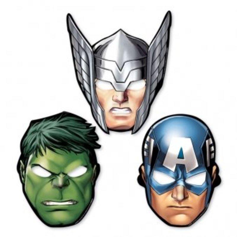 Avengers Assemble maskers