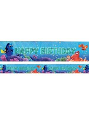 Finding Dory feestartikelen: foil banner slinger
