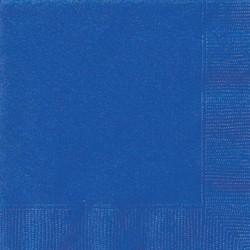 Servetten, donker blauw 20 stuks