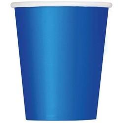 Bekers 14 stuks donker blauw