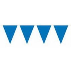 Donkerblauwe vlaggenlijn 10 meter XL