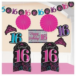 sweet 16 versiering feestpakket