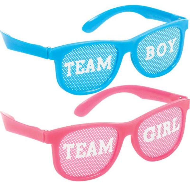 10 gender reveal brillen (boy or girl?)