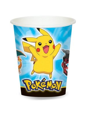 Pokemon feestartikelen bekers