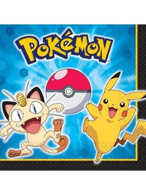 pokemon feestartikelen servetten (groot)