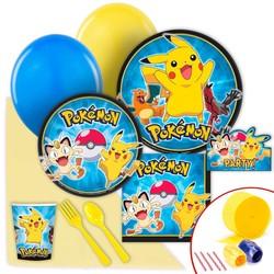 Pokemon feestpakket groot.