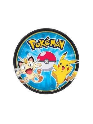 pokemon feestartikelen gebaksborden