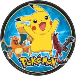 pokemon feestartikelen borden (groot)