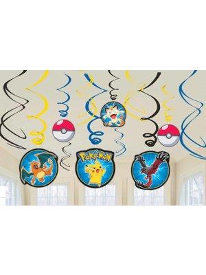 pokemon feestartikelen hangdecoratie / pokemon hang slingers