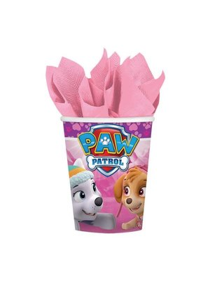 Roze Paw Patrol bekers