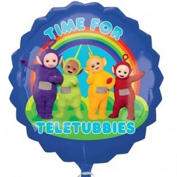 Teletubbies blauwe folie ballon