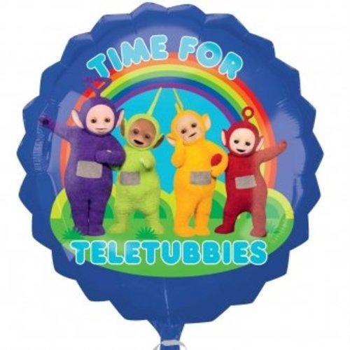 Teletubbies blauwe folie ballon