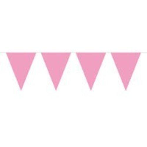 vlaggenlijn baby roze (mini)