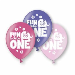 fun to be one ballonnen (safari) meisje