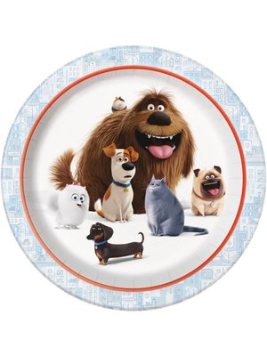 Secret Life of Pets feestartikelen borden