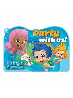 Bubble Guppies uitnodigingen