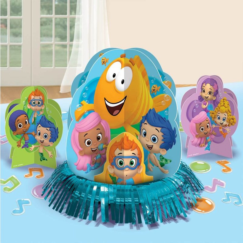 Bubble Guppies tafeldecoratie 3 stuks