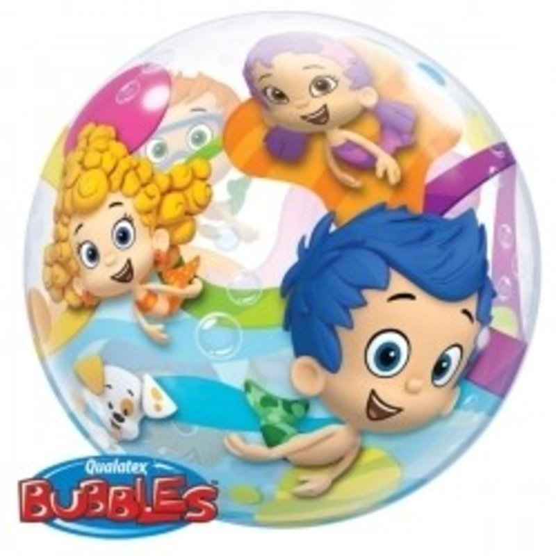 Bubble Guppies plastic ballon (bubbles)