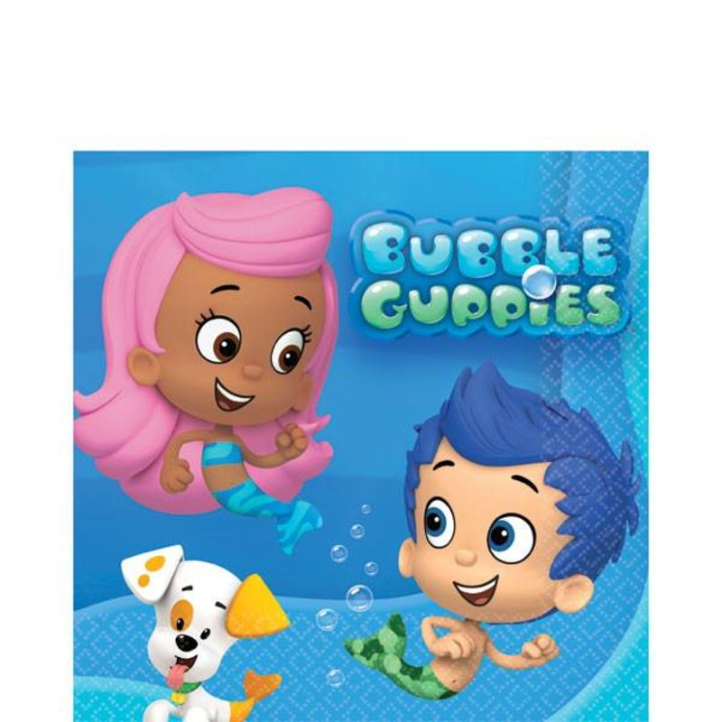 Bubble Guppies servetten klein