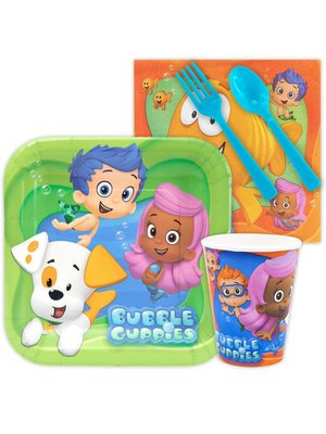 Bubble Guppies feestpakket