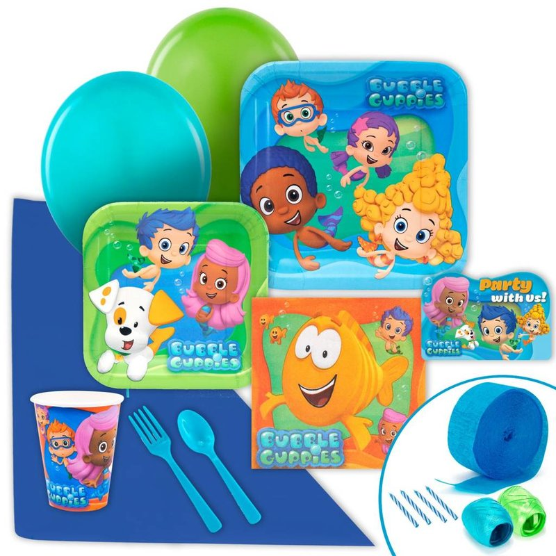 Bubble Guppies feestpakket mega