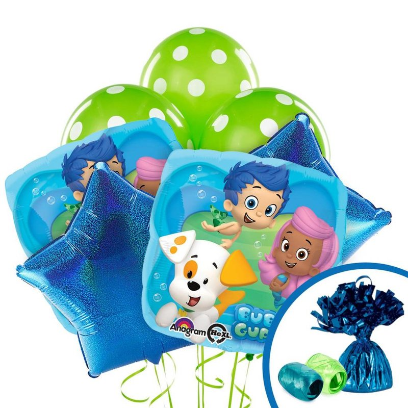 Bubble Guppies feestpakket ballonnen