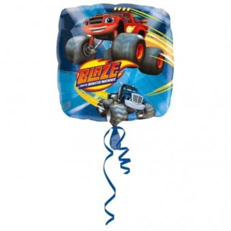 Blaze en de monster wielen vierkante ballon