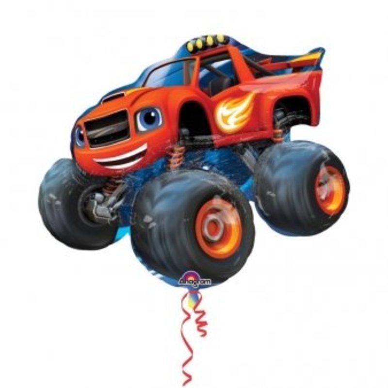 Blaze en de monster wielen mega folie ballon