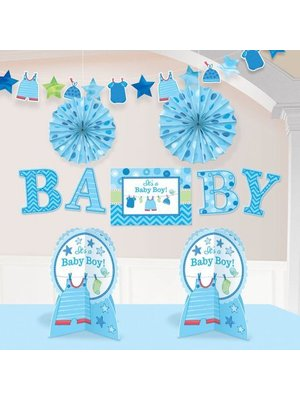 baby boy kamer decoratie