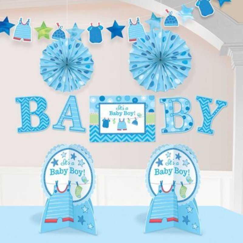 baby boy kamer decoratie