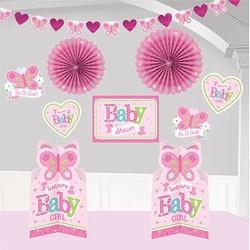 Geboorte versiering meisje koop je goedkoop online makkelijkfeestje for Kamer decoratie meisje