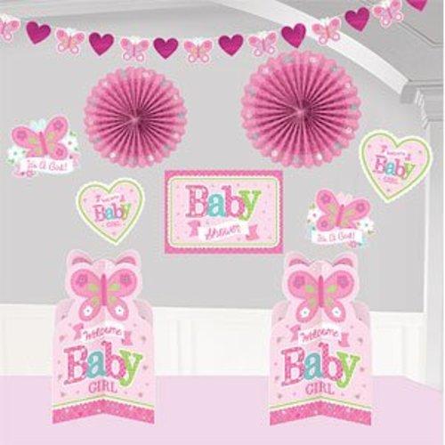 baby girl kamer decoratie