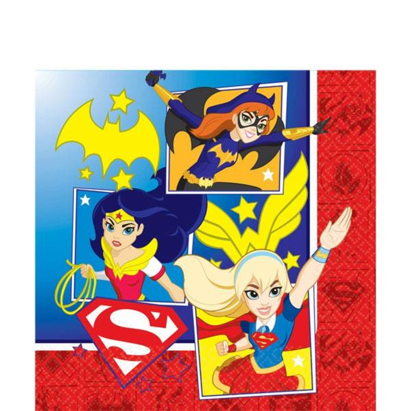 DC Super Hero Girls servetten