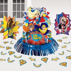 DC Super Hero Girls tafeldecoratie
