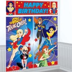 DC Super Hero Girls mega poster (5 delig)